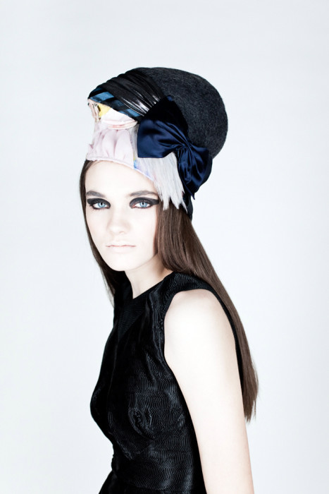 Hat Design for creatures of the wind (Fall 2010)(© by Mako Fuwa)